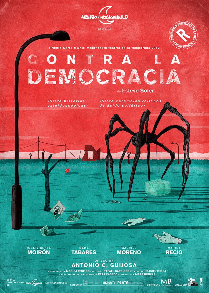 CONTRA-LA-DEMOCRACIA-platea y recomendado cartel-web-72ppp-2019