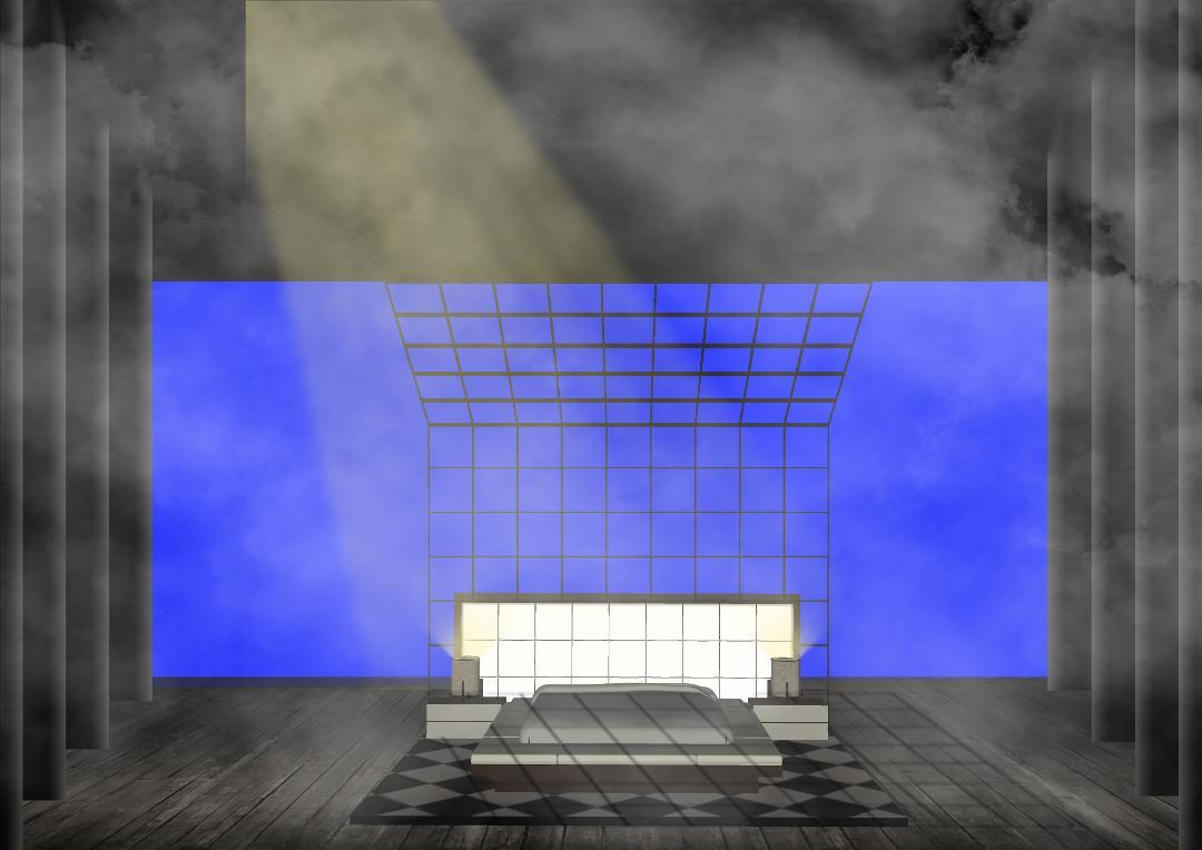 Noches de Hotel, Boceto Escenografía 2